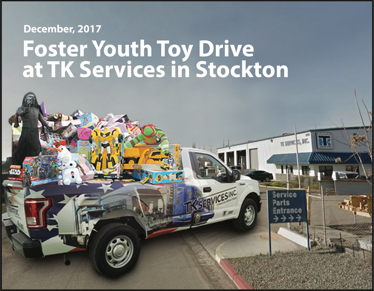 Collecting Toys for Foster Kids
