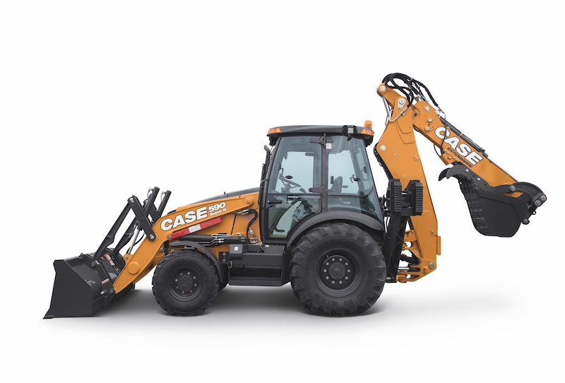 new case backhoes