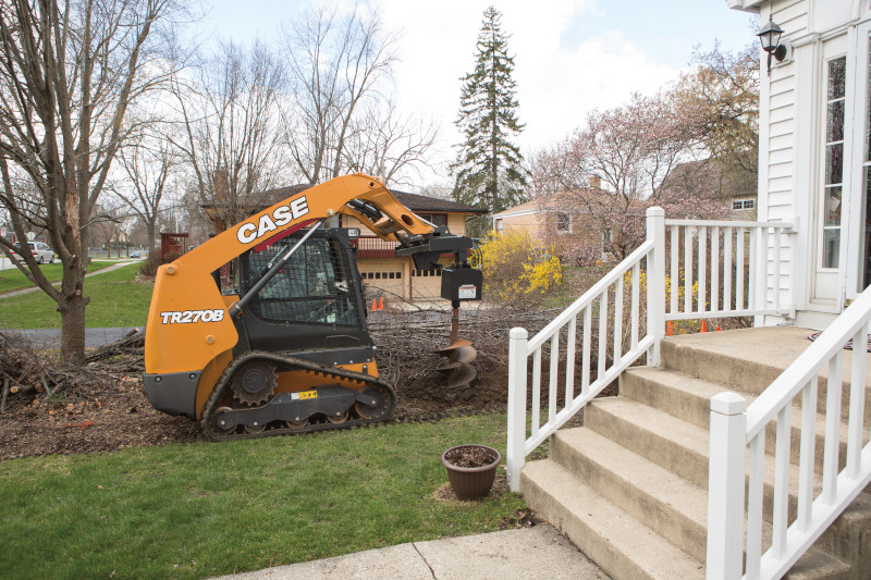 Why Landscape Designers and Landscape Architects prefer CASE Equipment for Landscaping Projects